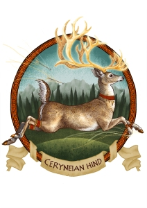 Ceryneian Hind_smaller by Lyndsey Green