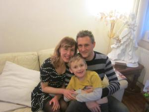 Me, our Dave & Eli
