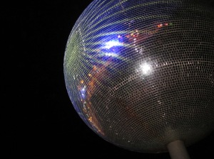 World's Largest Glitterball Blackpool