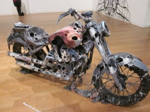 Chris Jones paper motorcycle