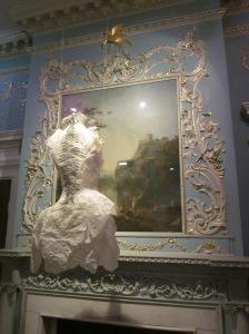 Violise Lunn paper dress