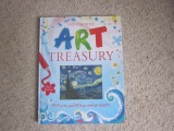Art book for kids: The Usborne Art Treasury