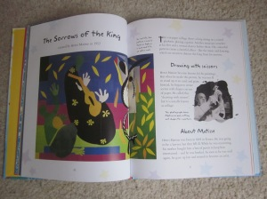 The Sorrows of the King by Matisse