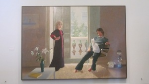 David Hockney 'Mr and Mrs Clark and Percy'