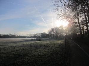 Sunrise over Ashton Park