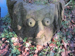 Stone Carving at Frenchwood Knoll Wildlife Garden