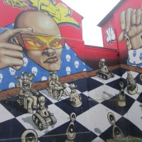 Brighton Street Art in the North Laines