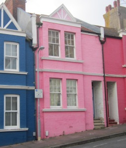 Colourful Houses Brighton