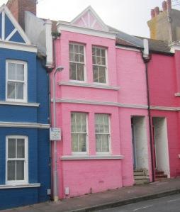 Colourful Houses Brighton