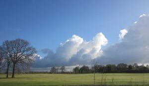 Clouds over Ashton Park