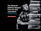 The Observer/Anthony Burgess Prize for ArtsJournalism