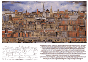 Landscapes of Preston postcard by WED Ryan