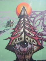 Local street art – Back on Thurs tofinish…