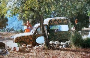Ibiza, 1975. Photograph from Paula's Ibiza by Armin Heineman