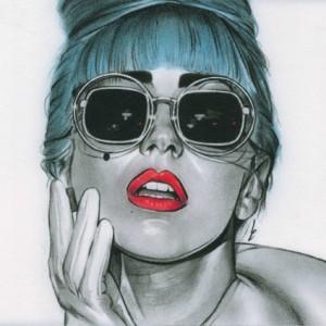 Lady Gaga by Linda Massey