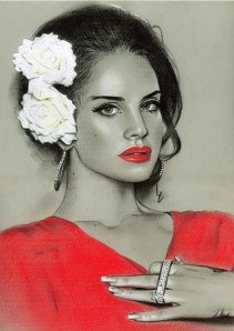 Lana Del Ray  by Linda Massey