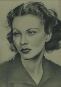 Vivien Leigh by Linda Massey