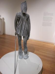 Blotter Figures: Standing Still 1999 Juan Munoz Polyester resin