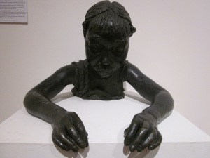 The Sick Child (12th portrait of Peggy Jean) 1928 Jacob Epstein Bronze