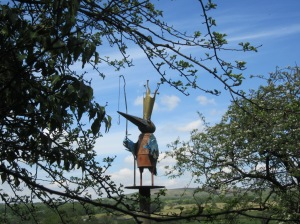 The Ribble King by Matthew Robey (Copper, steel and recycled materials) 2007