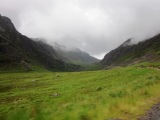Hairy, scary drive across the Pass of the Cattle, Scotland.