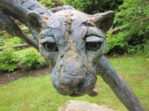 Cheetah (bronze) - Hamish Mackie