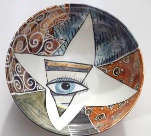 kitty-round-bowl